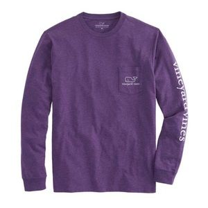 Vineyard Vines Long Sleeve Vintage Whale T-Shirt
